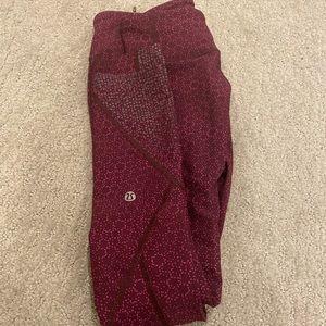 Cropped lululemon leggings